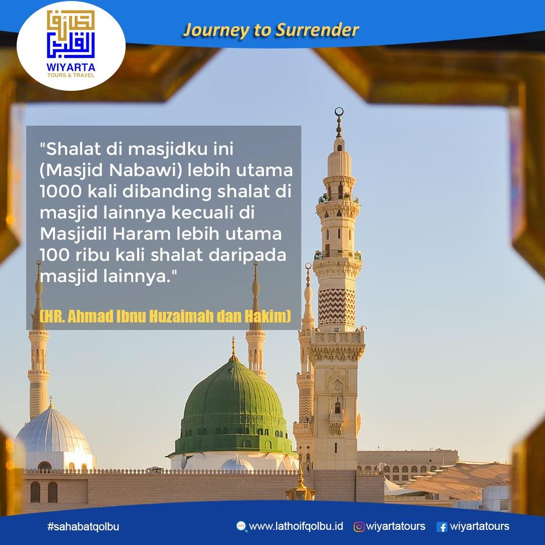 Sahabat Qolbu, Niatkan Agar keluarga tercinta kita bisa berkunjung ke Baitullah…