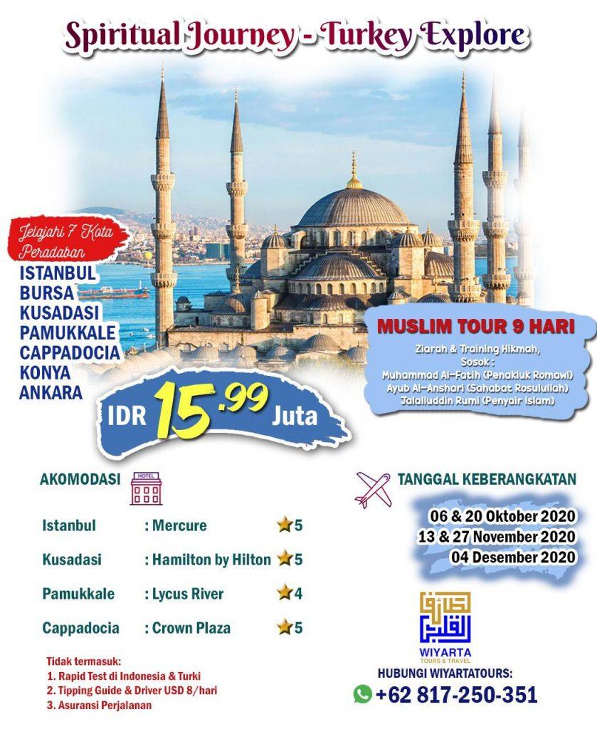 Spiritual Journey – Turkey Explore