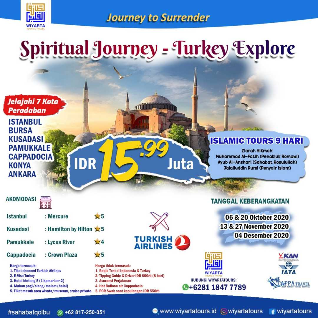 Spiritual Journey – Turkey Explore